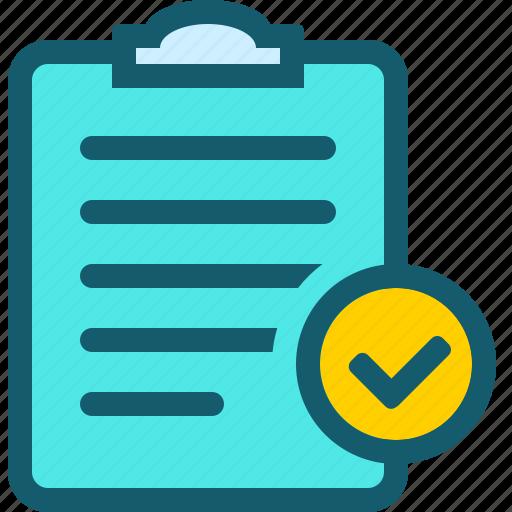 analysis, audit, check, data, file, ok icon