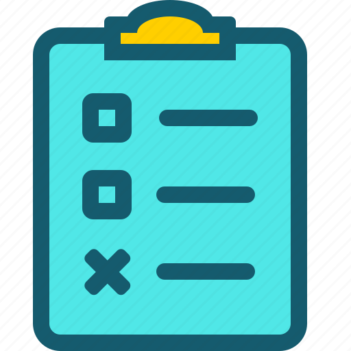 checklist, data, document, file, files, page, sheet icon