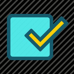 accept, approve, check, done, good, ok, success icon