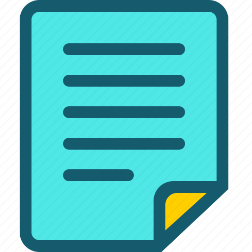 data, document, documents, file, format, page, text icon