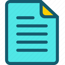 data, document, documents, file, page, text icon
