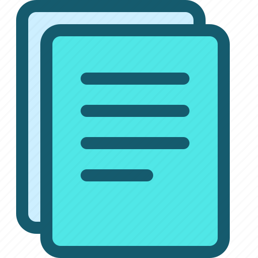 document, documents, file, files, page, pages, type icon