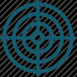 aim, goal, marketing, success, target icon