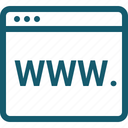 browser, domain, seo, web, webpage, website icon