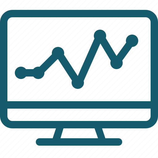 analysis, analytics, chart, diagram, graph, monitoring, statistics icon