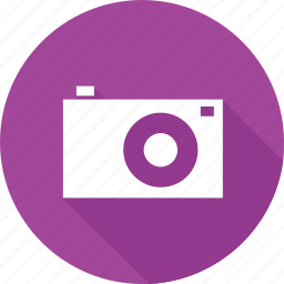 camera, capture, photo, picture, purple, shoot, snap icon