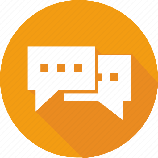 chat, communication, dialog, forum, message, speech, talk icon