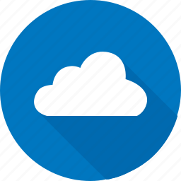 blue, cloud, data, hosting, online, whether icon