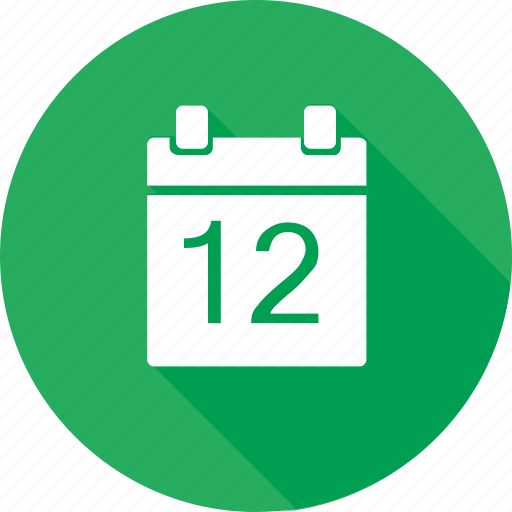Blank Calendar Icon Green : Calendar date event green icon search engine