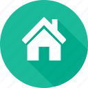 blue green, building, construction, estate, home, real