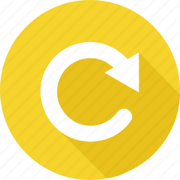 arrow, refresh, reload, renew, rotate, round, update icon