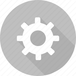 gear, gray, industrial, part, round, settings, wheel icon