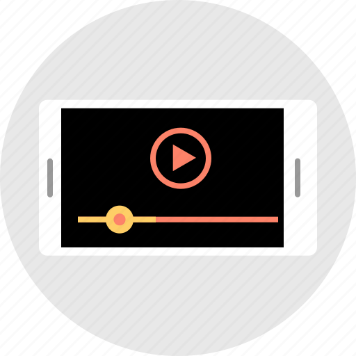 landscape, play, youtube icon