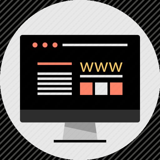 mockup, technology, web icon