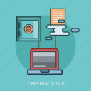 box, cloud, computer, computing, technology icon