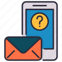 email, mail, question, unknown