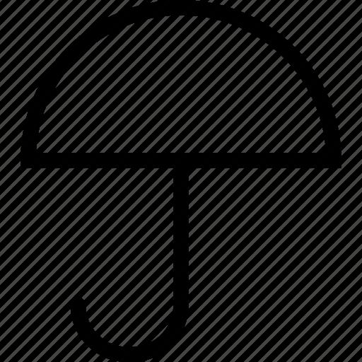 protect, protection, rain, umbrella icon