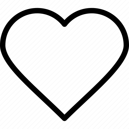 Heart, favorite, like, love icon - Download on Iconfinder
