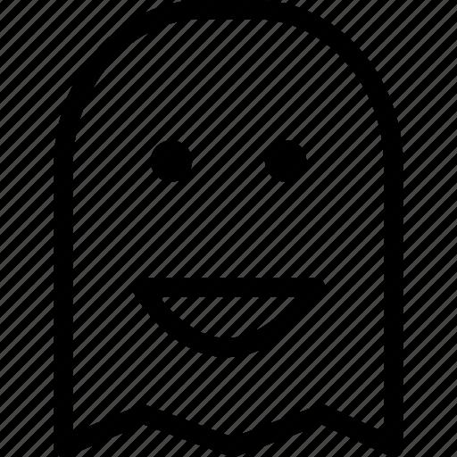 ghost, halloween, spirit, spooky icon