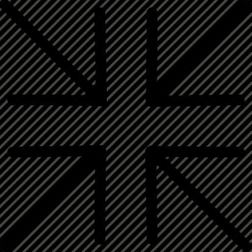 exit, fullscreen, minimize, web icon