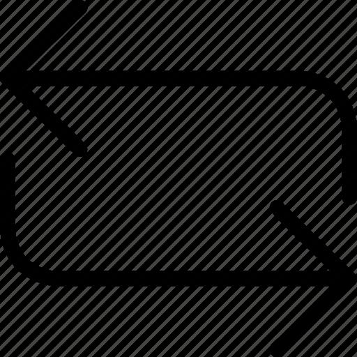 nav refresh, navigational arrows, refresh, web and mobile ui icon