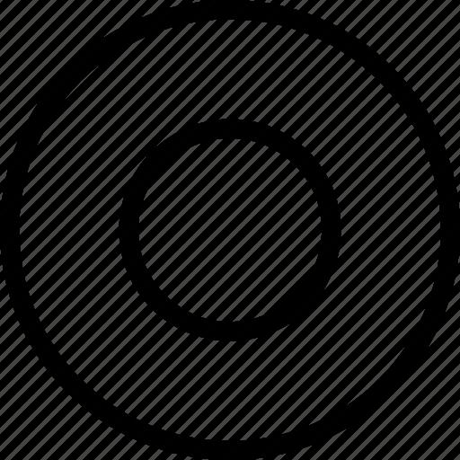 mark, select, selected, selected radio icon