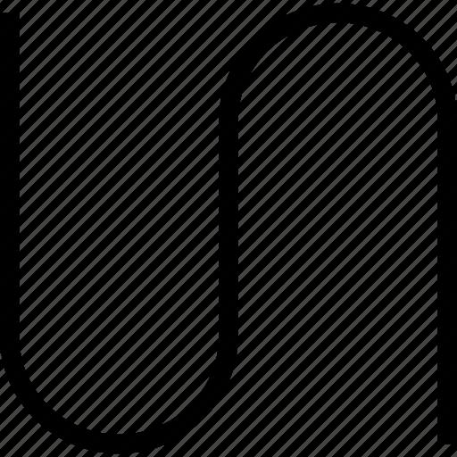 creative, curve, grid, line icon