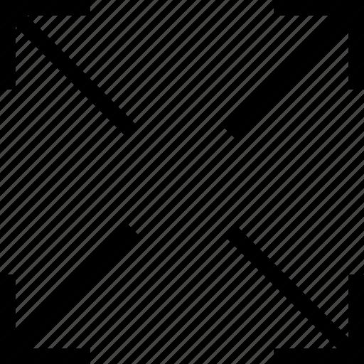 arrows, expand, fullscreen, maximize icon