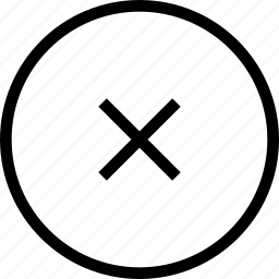 circle, delete, error, problem icon