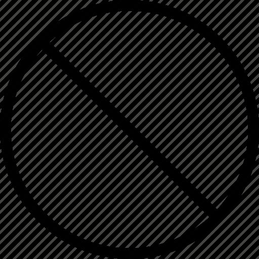 ban, block, cancel, stop icon