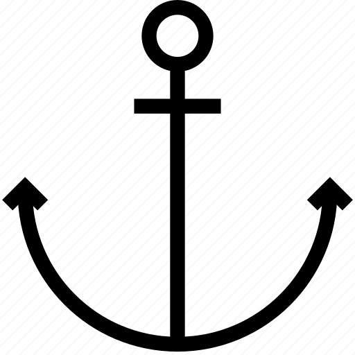 anchor, nautical, sea, ship icon