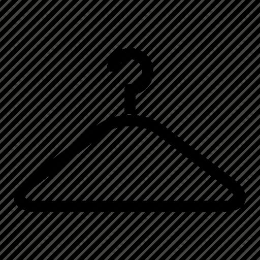dress, fashion, hanger, webshop icon