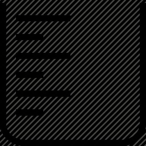 beaker, experiment, laboratory, science icon