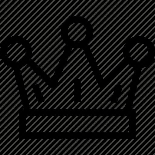 award, crown, king, royal icon