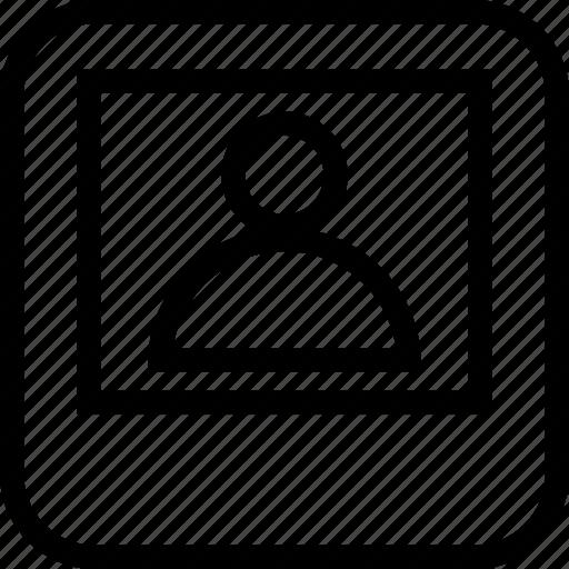account, online, profile, tab icon