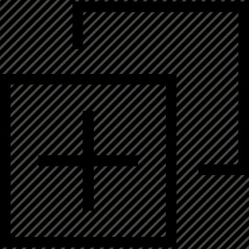add, design, element, web icon