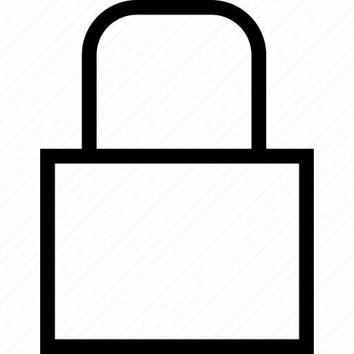 lock, locked, safe, secure icon
