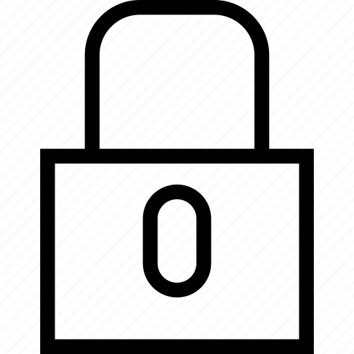 lock, locked, protection, security icon