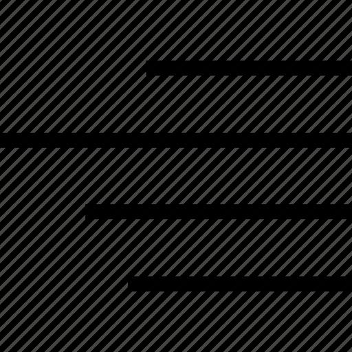 align, align right, right, text icon