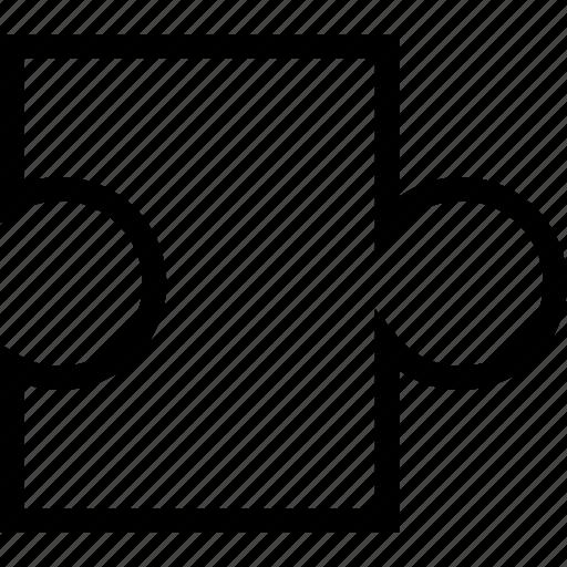 jigsaw, puzzle, teamwork, unit icon
