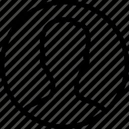 account, man, os x folder, user icon