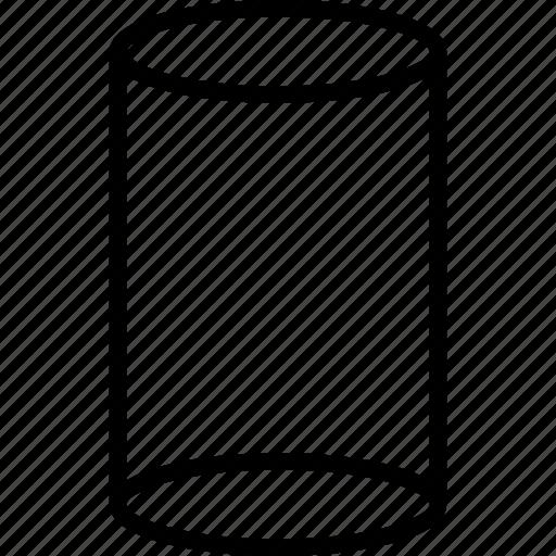 creative, cylinder, shape icon