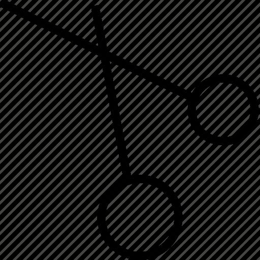 broken, cut, edit, scissors icon