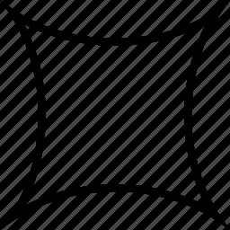 cushion, shape, square icon