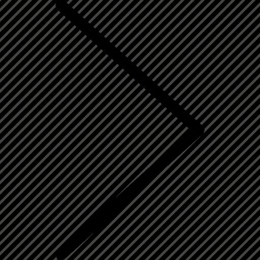 chevron, direction, next, right icon