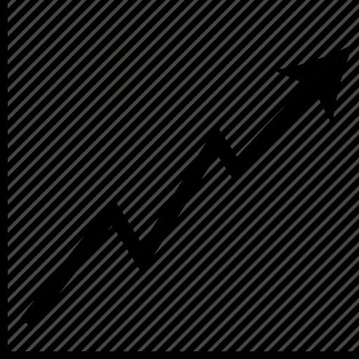 diagram, graph, report, statistics icon