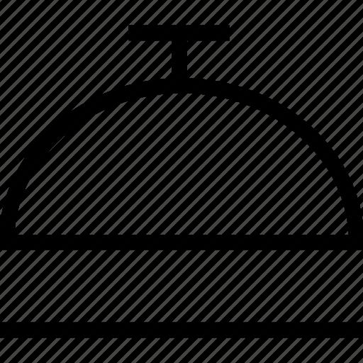 hotel, reception, service, service bell icon