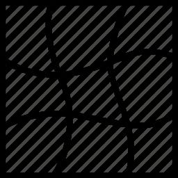 grid, turning, twirl, twist icon