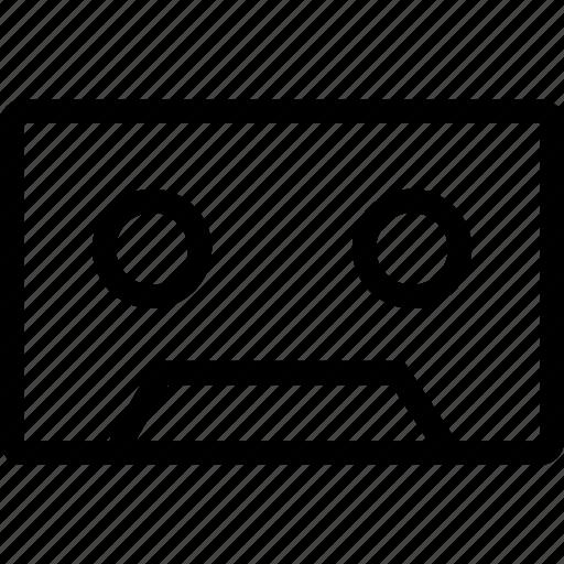 audio, cassette, music, tape icon
