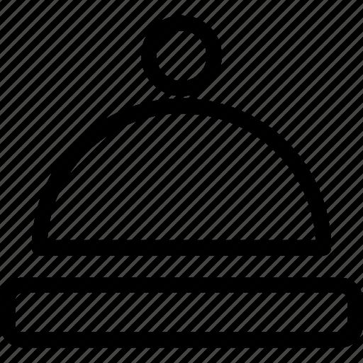 food, platter, restaurant, serving, webshop icon
